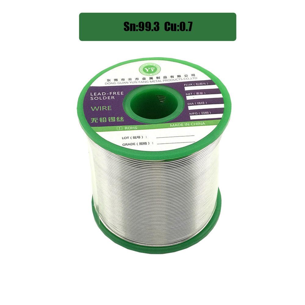 1000g Senza Piombo Saldatura A Filo Salute Sn: 99.3% Tin Wire Melt Colofonia Core Grande Rotolo di Modello: sn99.3-0.7Cu