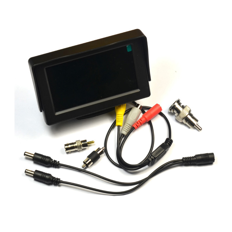 <font><b>4.3</b></font> <font><b>inch</b></font> <font><b>TFT</b></font> LCD MONITOR COLOR CCTV Security Surveillance CAMERA TESTER CCTV TEST image