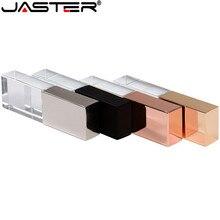 Модная с хрусталем Стиль USB флэш-накопитель USB 4 GB 8 GB 16 ГБ, 32 ГБ, 64 ГБ USB 2,0 подарок флешки cle usb (более 10 шт свободный логотип)