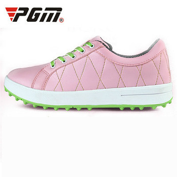 2019 Counter genuine PGM ladies golf shoes sports shoes women no spikes breathable waterproof for female boots