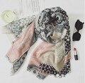 Alta qualidade de sarja de algodão projeto geometic padrão paisley boêmio xales muçulmano longo wraps outono lenços/cachecol 10 pçs/lote