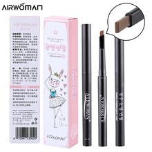 Brand 1 PC 5 Color Women Lady Triangle Waterproof Eyebrow Pencil New automatic Eye Brow Pen cosmetic makeup maquiagem eyebrow