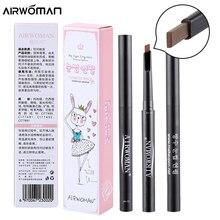 מותג 1 PC 5 צבע נשים ליידי משולש עיניים גבות עט עיפרון גבות עמיד למים חדש אוטומטי maquiagem איפור קוסמטיקה גבות