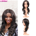 afro wigs long body wave natural black synthetic wig for women dreadlock wig that look real peluca harley quinn peruca sintetica