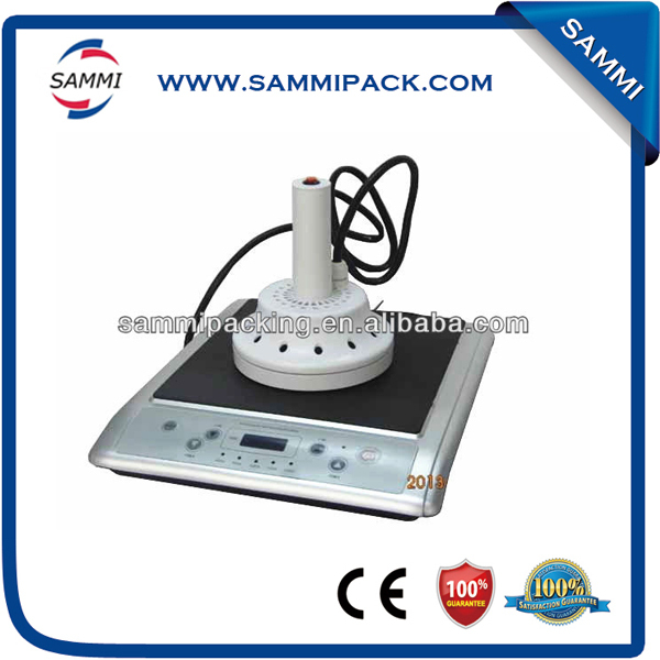 Hot selling Induction sealer aluminum foil sealing machine free shipping hot sale continuous induction sealer aluminum foil sealing machine