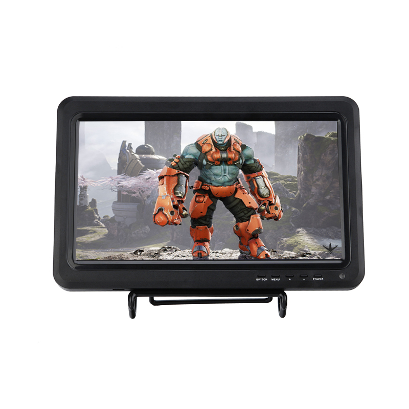 Portable Analog TV 10 inch Mini HD Car TV With HDMI VGA AV USB Support PS3 PS4 WiiU Xbox 360 Games LED Display Box Video Player
