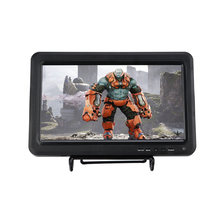 Portable LED Television Video Player Mini Car TV With HDMI VGA AV USB Support PS3 PS4 WiiU Xbox 360 Game In English Russian OSD