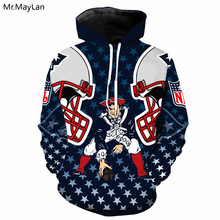 Sportwear Team Clothing Print 3D Hip Hop Hoodies Jackets Men Women Streetwear Hooded Sweatshirts Pullovers Tops Harajuku