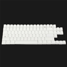 87Key PBT Keycaps Set DIY Keyboard Keycap Universal Blank No Print Replacement Key Caps For Cherry MX Switch Keyboard