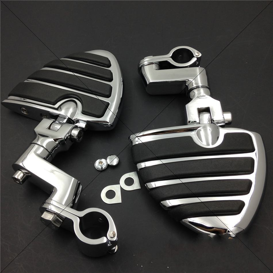 Aftermarket free shipping motorcycle parts 1 KURYAKYN Wing Footpegs Male Mount Clamps for H-D Sportster 883 xl1200 1340Aftermarket free shipping motorcycle parts 1 KURYAKYN Wing Footpegs Male Mount Clamps for H-D Sportster 883 xl1200 1340