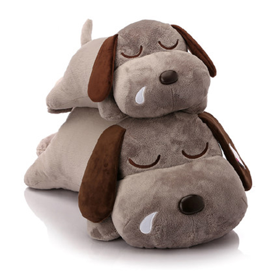 Sleeping Dog Plush Toy Soft Plush Baby Toy Birthday Gifts For Girls Peluches Bebe Kawaii Cute Dog Stuffed Animals Dogs 50C0108 cute dog stuffed animals dog soft toys for girls gifts birthday toy kawaii stuffed animal dolls kids plush pillow 70c0569