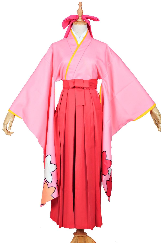 Anime Card Captor Sakura Tomoyo Daidouji Cosplay Costume Pink KINOMOTO SAKURA Cosplay Kimono