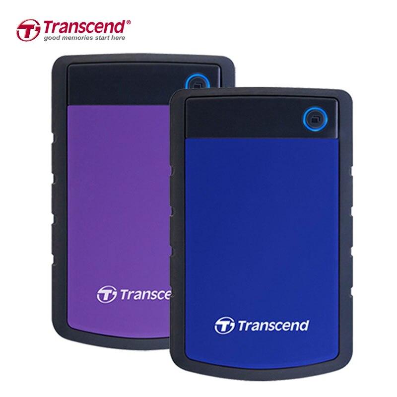 """Transcend 1 ТБ внешний жесткий диск 2.5 """"Высокая Скорость USB 3.0 Mac 2.5-дюймовый жесткий диск 1 т HD экстерно HDD Disco экстерно USB 3.0"""