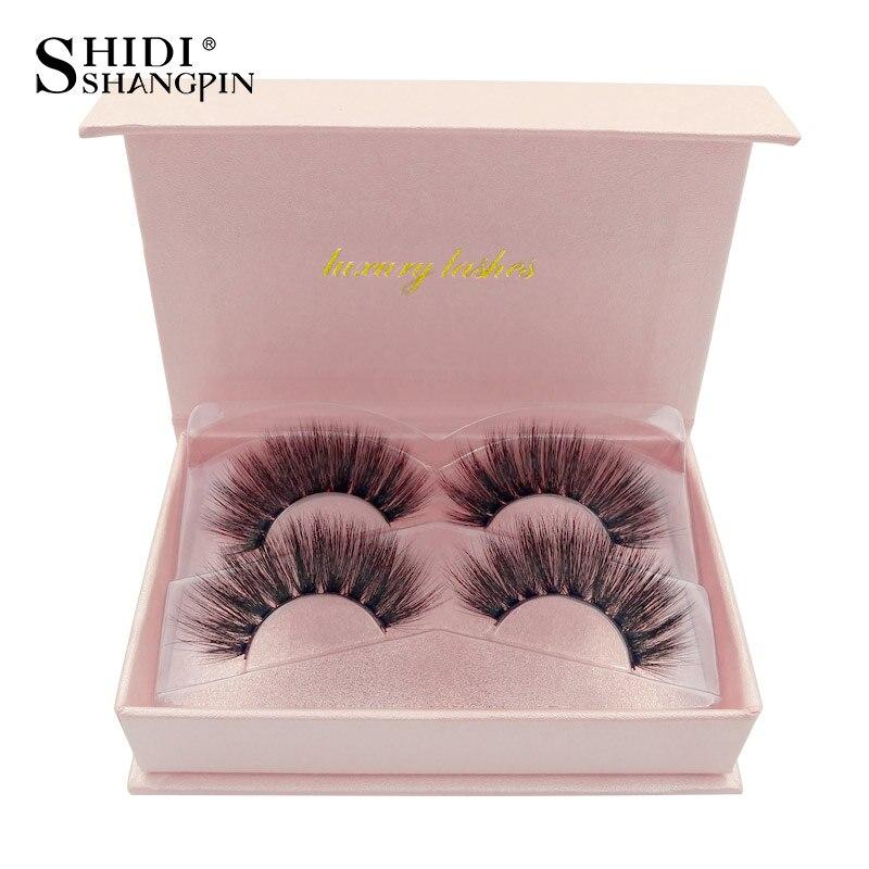 LANJINGLIN Natural Long False Eyelashes Full Strip Lashes Makeup 3d Mink Lashes Volume Fake Eye Lashes Soft Mink Eyelashes