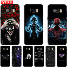 Luxury Spiderman Joker animal Case For Samsung