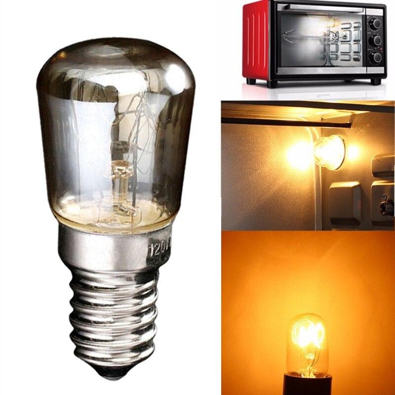 220V-240V High Temperature 25W 300 Degree SES E14 Oven Toaster/ Steam Light Bulbs Cooker Hood Lamp Warm White Bulb Light