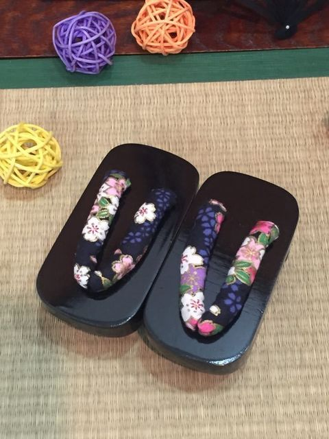 [wamami] Light rose red Wood Kimono geta Timber Shoes Sandals 1/4 MSD LUTS BJD