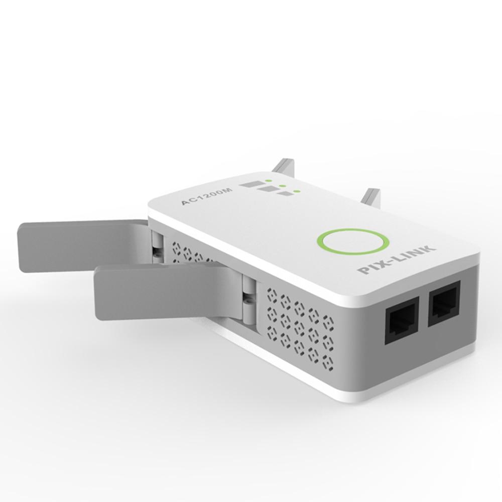PIXLINK AC09 1200 2.4 ghz 5 ghz Dual Band AP Sans Fil wifi Répéteur Gamme AC Extender Répéteur Routeur WPS Avec 4 externe Antennes - 2