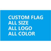 120X180 cm (4x6FT) poliester zaprojektować dowolny logo dowolny kolor personalizowany prezent z jednej strony flag banner