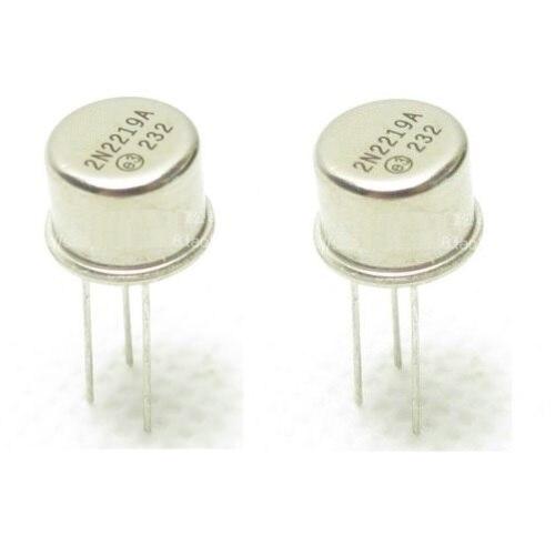 10pcs New 2N2219 2N2219A Transistors TO-39 MOT NEW