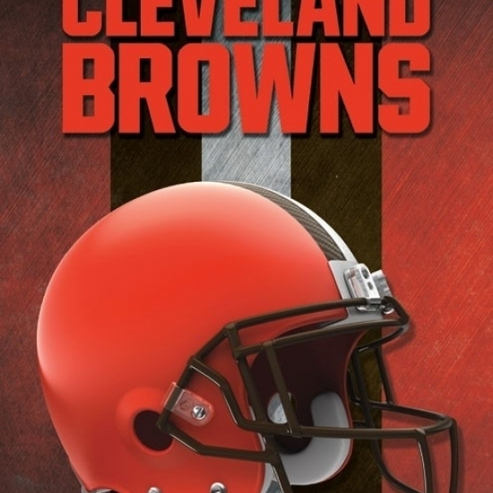Cleveland Browns – Helmet 16 Laminated Poster Print (22 x 34)