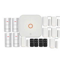 Wolf Guard 2.4G Wifi Wireless Home Security Alarm Burglar System DIY Kit APP Control Motion Detector Sensor Burglar Alarm System