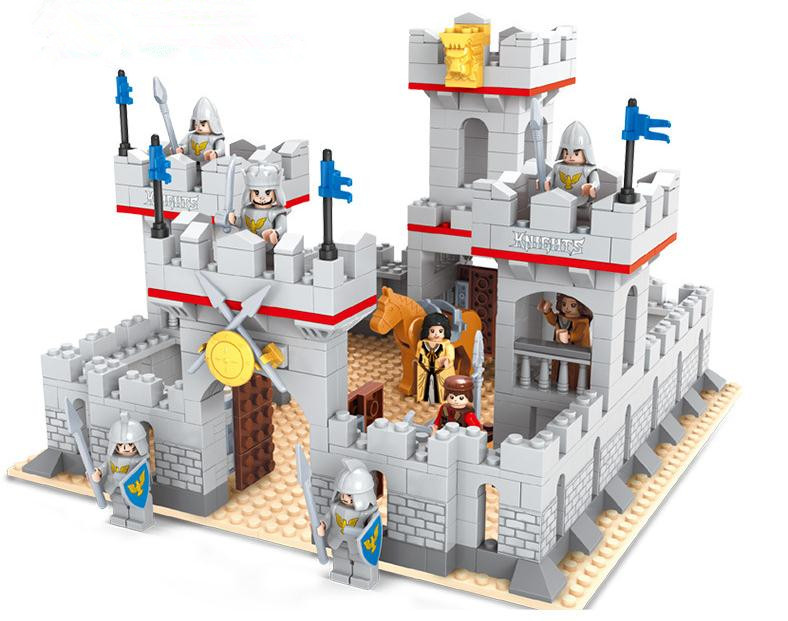 Toy Castles For Toddler Boys : Middle ages city princess knights castle model building