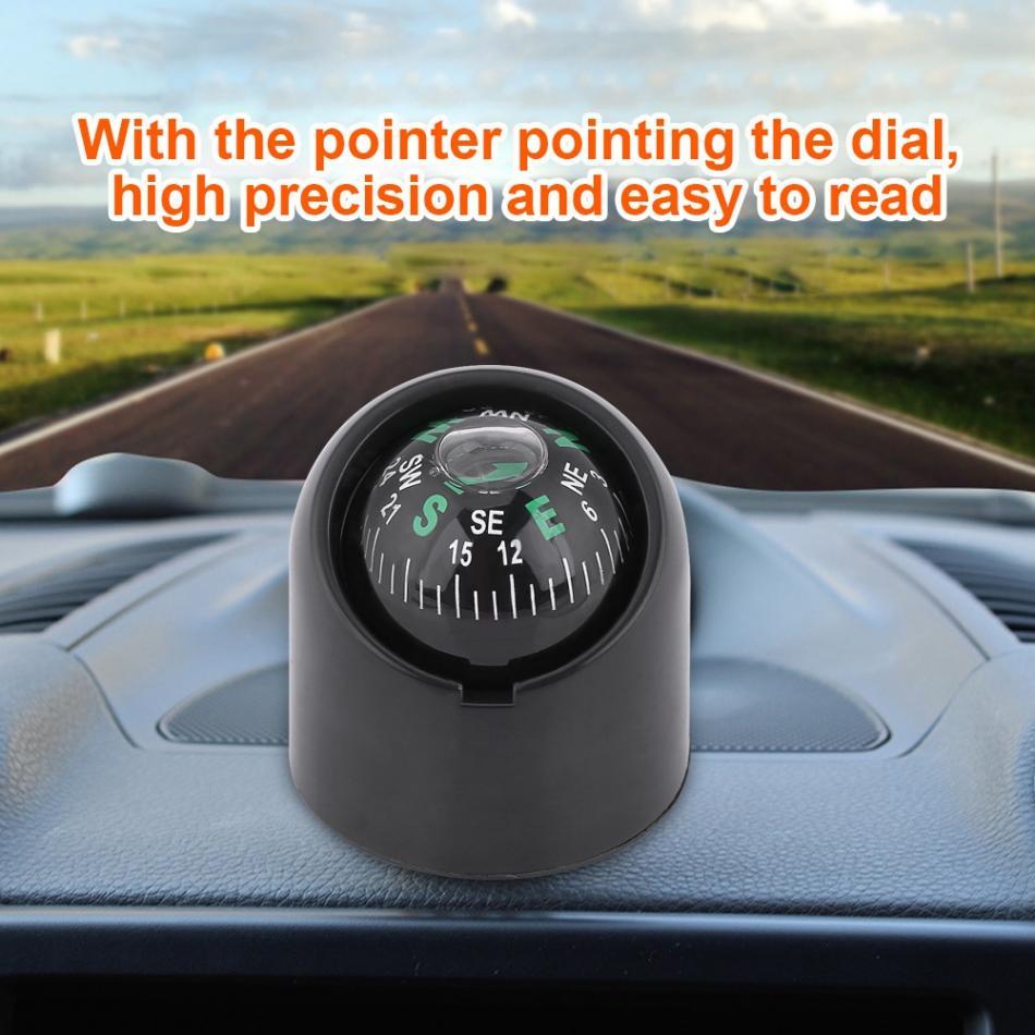 Auto voiture camion bateau adhensive autocollant portable mini auto-adhésif compass ball