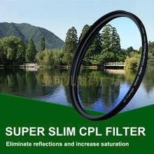 WTIANYA 95mm CPL Filter PL-CIR Polarizing Filter for DLSR 95mm lens for Nikon Canon Pentax Sony DSLR Camera
