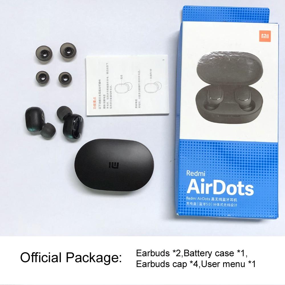 ae3c69ba49e Instock Xiaomi Redmi Airdots Xiaomi Wireless earphone Voice control  Bluetooth 5.0 Noise reduction Tap Control-in Bluetooth Earphones &  Headphones from ...