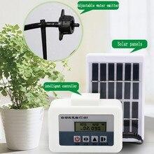 Капельное орошение солнечной энергии оросительная система умный сад Timed автоматическое устройство для полива растений в горшках с водяным насосом