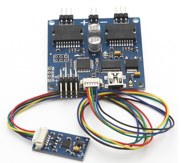 ФОТО HK free shipping+Universal 2-axis 2-axle Brushless Gimbal Controller Open Source V049 Martinez
