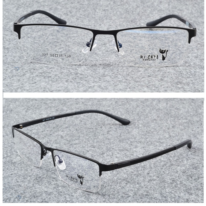 a63524954d Vazrobe Semi Rimless Glasses Men TR90 Spectacles Prescription Eyeglasses  Frames for Man Cheap Eyeglass Men s Diopter