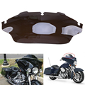8'' Wave Windshield Windscreen Air Wind Deflectors For Harley Electra Street Glide FLHX Touring Motocross Cafe Racer Bicicleta
