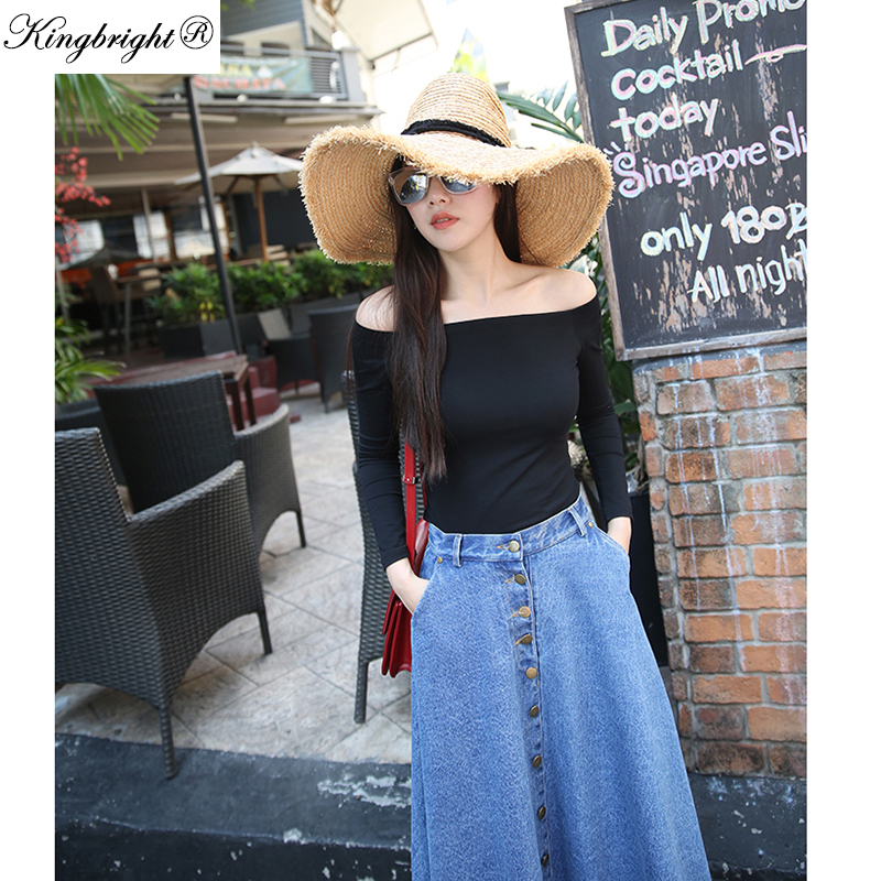 Compare Prices on Jean Skirts for Women- Online Shopping/Buy Low ...