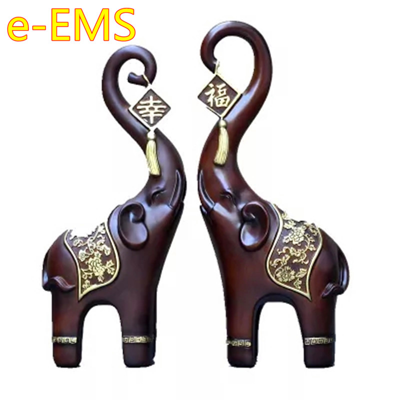 Chinese Style Happiness Elephant Creative Colophony Crafts Sculpture Wedding Decoration G1766Chinese Style Happiness Elephant Creative Colophony Crafts Sculpture Wedding Decoration G1766
