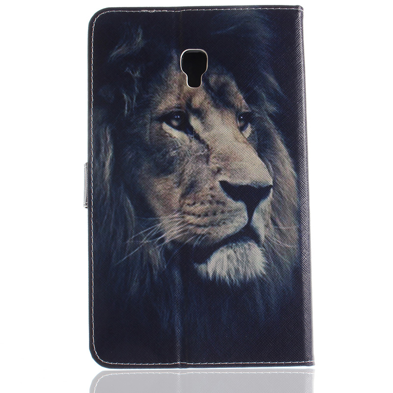 For Samsung Tab A 8.0 2017 T385 Animal Prints Leather Case Cover For Samsung Galaxy Tab A 8.0 T380 T385 2017 SM-T385