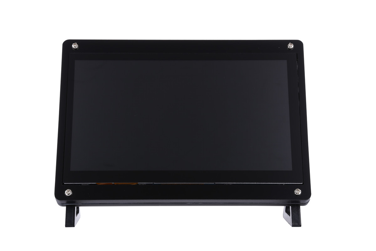 New 7 Inch USB HDMI LCD Display 1024x600 Capacitive Touch Screen Case For Raspberry Pi 4