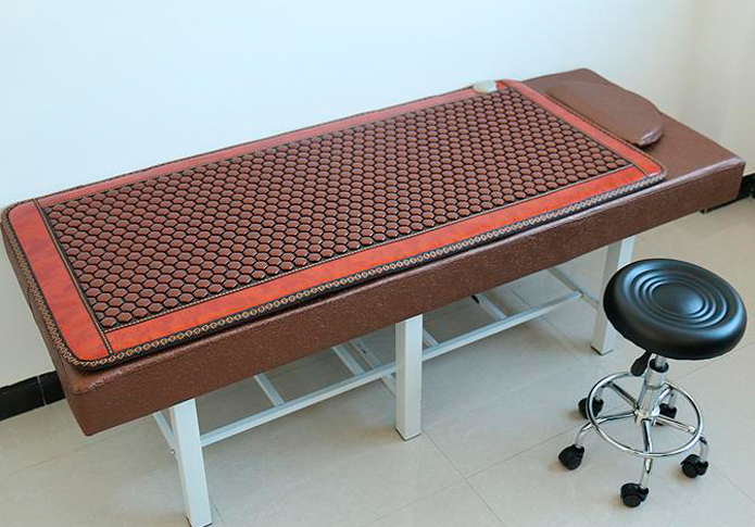 Good & Free shipping! Natural Jade cushion germanium stone tourmaline heated mat health care physical therapy mat 70cmX160cm best selling korea natural jade heated cushion tourmaline health care germanium electric heating cushion physical therapy mat page 5