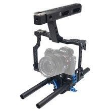 Каркас для крепежа видеокамеры из алюминиевого сплава Mcoplus Stabilizert для GH4 A7S