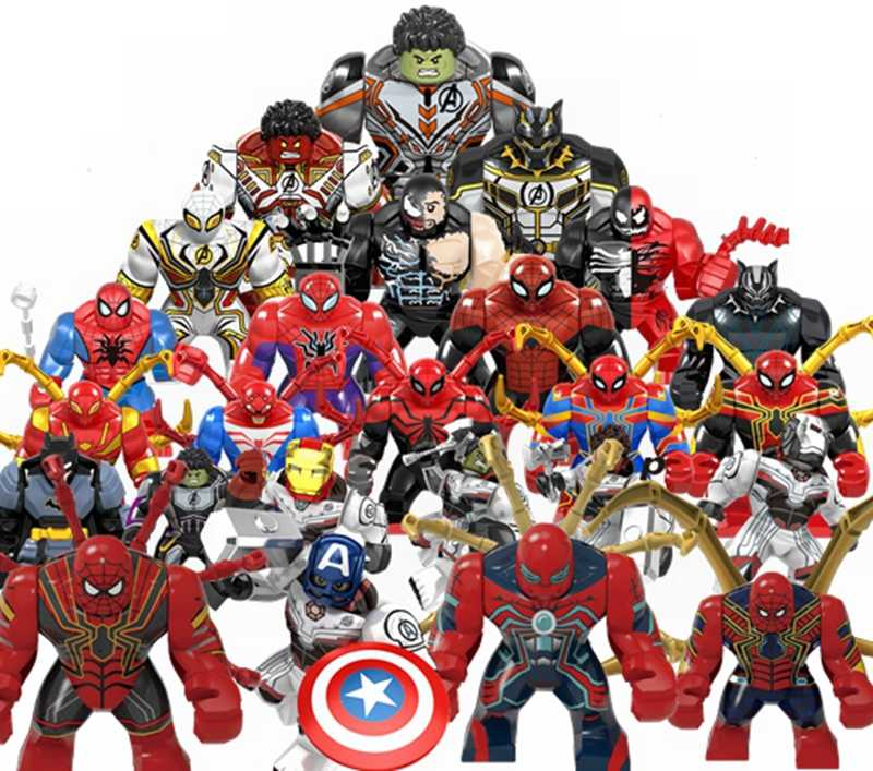 Legoing Marvel Avenger Toy & Hobbies Iron Man Raytheon Character Model Avengers Marveled Sets Kids Building Blocks Toys Legoings