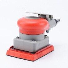 Пневматический шлифовальный станок, пневматические инструменты, квадратная рельса, пневматическая полировальная машина, квадратная площадка 75*100 мм, шлифовальный станок для поверхности