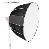 Aputure LS C120D+Light dome Kit daylight COB led video light professional photo studio film shooting light with V mount plate