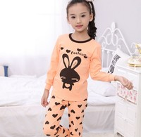 Kids Pajamas Sets Hot Warm Girls Boys Pyjamas Cartoon Printed Soft Full Sleeve Girls Sleepwear Kids