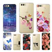 Soft TPU for Huawei honor 10 print cute fashion phone case For Phone protect cases shell