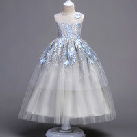2017 Brand Tulle Lace Infant Toddler Princess Flower Girl Dresses For Weddings And Party White First