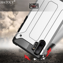 For Samsung Galaxy Note 10 Pro Case Silicon Armor Hard PC Phone Cover