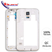 Middle Housing for Samsung Galaxy S5 G900 G900F G900A G900H G900P Frame Back Bezel Replacement repair parts