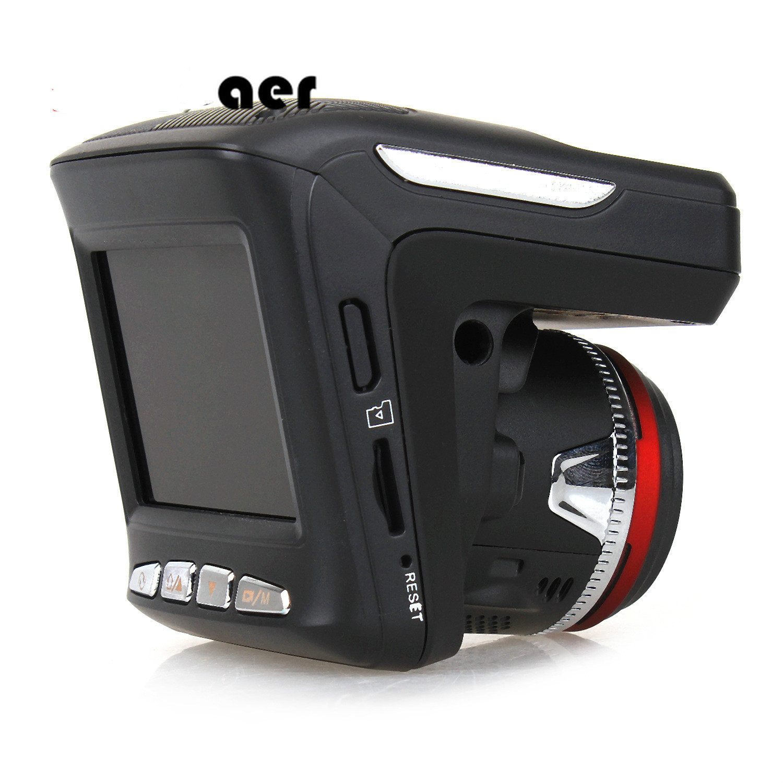 Russian Voice 3 In 1 Car DVR Camera Anti Radar Detector Laser HD 1080P Built in