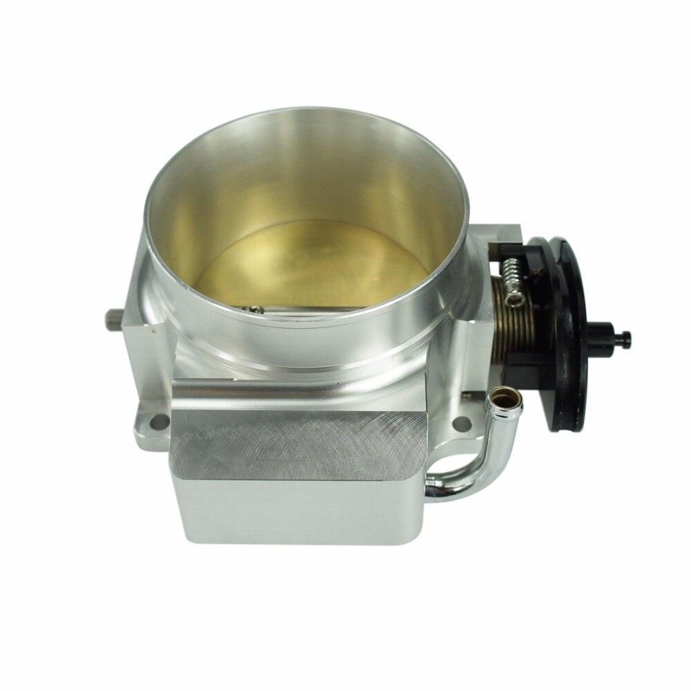 ФОТО ALUMINIUM 102mm NEW THROTTLE BODY ForGM GEN III LS1 LS2 LS6 102MM Throttle Body HIGH QUALITY YC100733